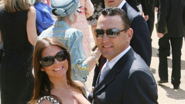 Vinnie Jones and his wife Tanya in 2009