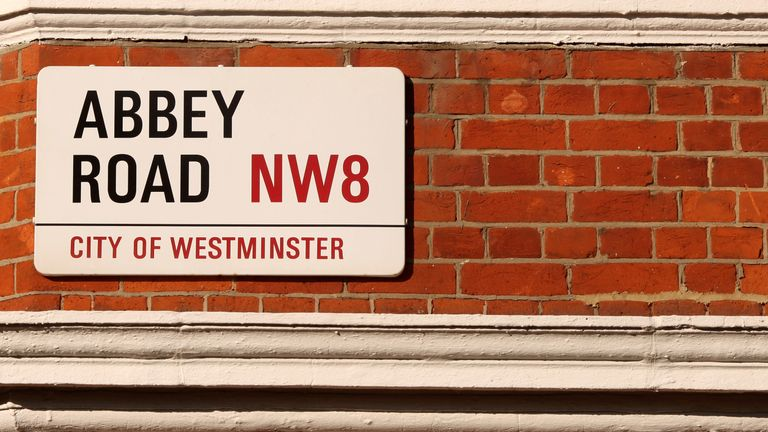 Abbey Road on February 17, 2010 in London, England.