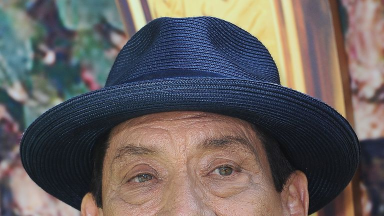 Danny Trejo rescued the young boy after happening to be in the area