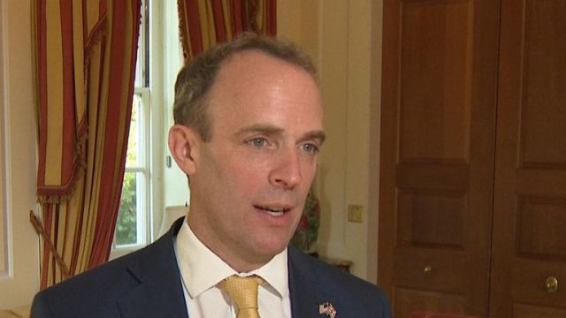 Dominic Raab insists that the prime minister is in charge of the government