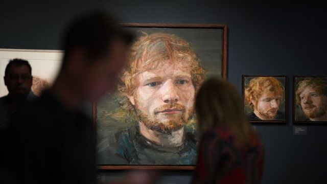 Unseen artworks of the artist have been included in the display