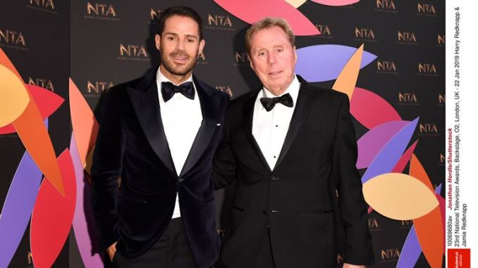 Harry Redknapp & Jamie Redknapp at the National Television Awards in January 2019 (NTAs)