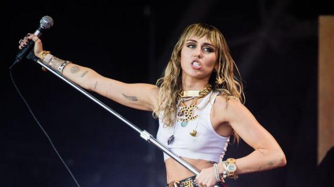 Miley Cyrus at Glastonbury