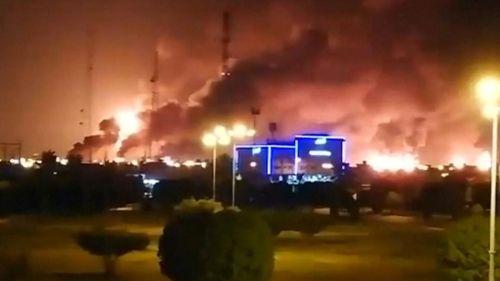saudi oil refinery attack
