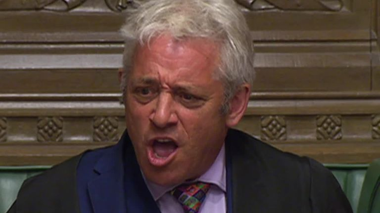 Speaker John Bercow announced he will stand down in tearful speech. Here's a montage showing how he handled MPs in the Commons