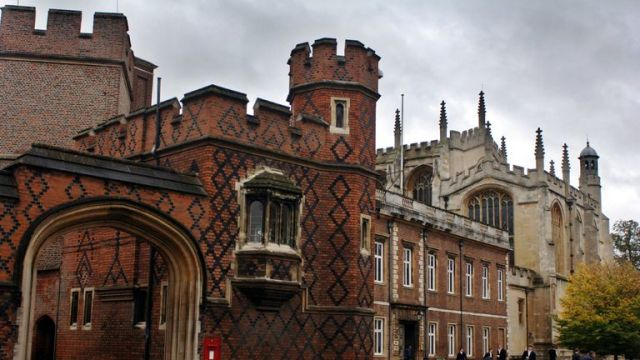 File photo dated 05/10/06 of Eton College which will offer 12 free places to boys from challenging backgrounds who do not have the highest grades.