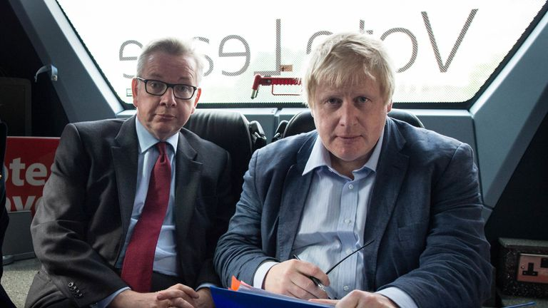 David Cameron condemned Leave campaigning by Michael Gove and Boris Johnson