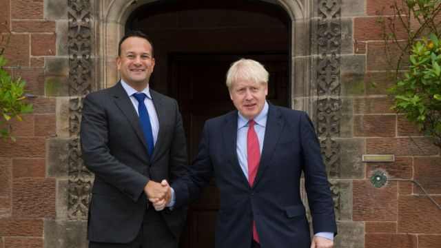 The prime minister has met with Ireland's Taioseach Leo Varadkar