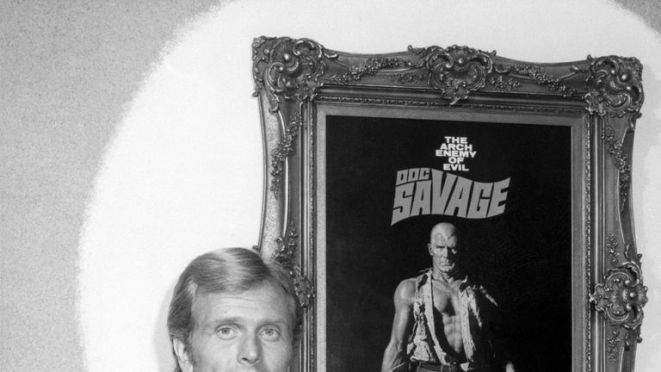 Ron Ely also played pulp fiction character Doc Savage in the 1975 movie