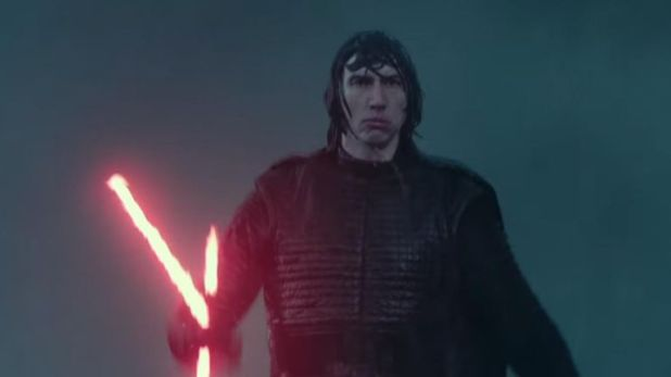 Adam Driver reprises his role as Kylo Ren