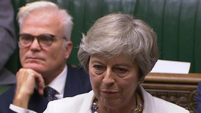 Theresa May says the House of Commons should vote for Boris Johnson's Brexit deal