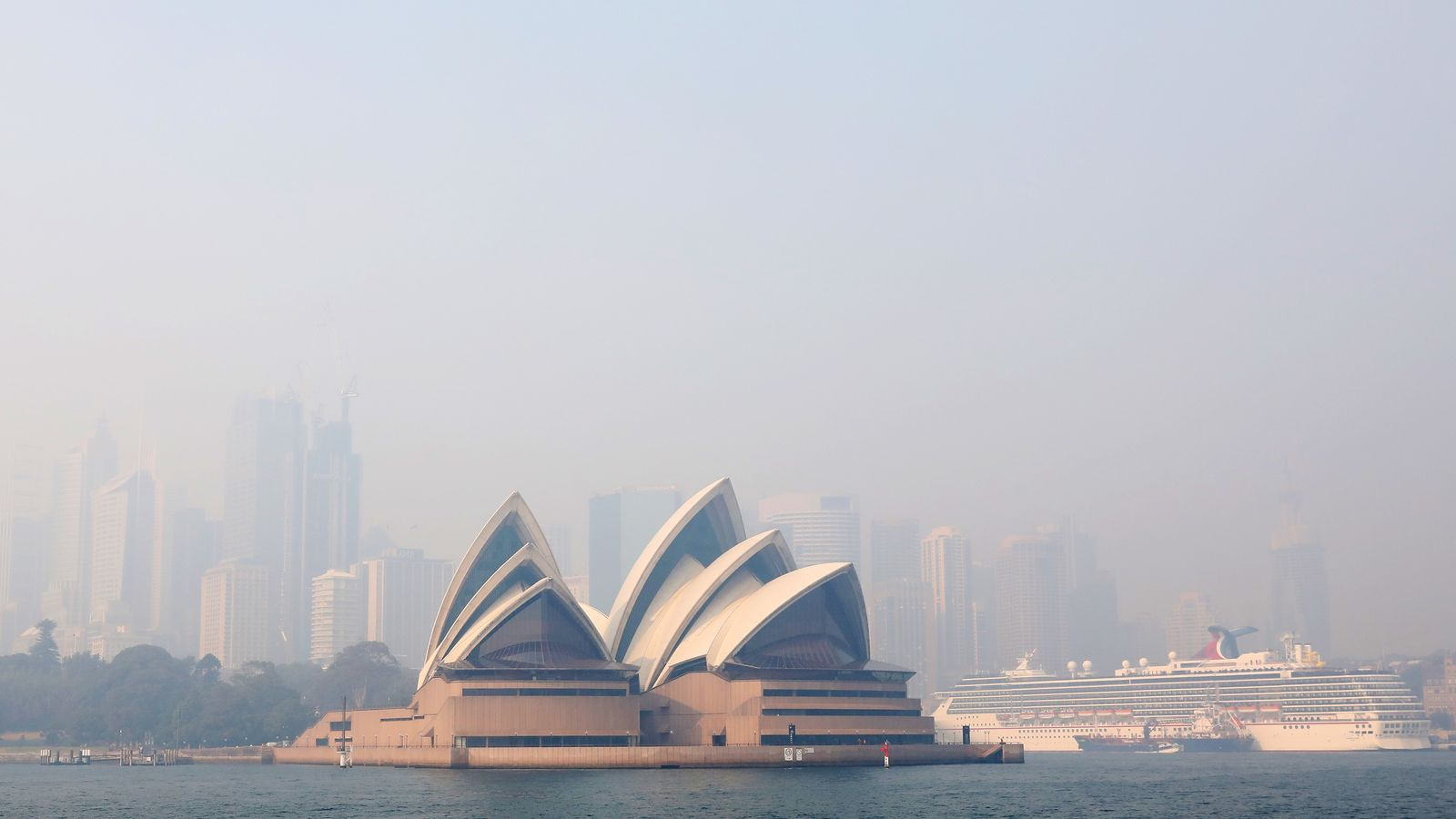 Sydney Under Blanket Of Smoke As Bushfires Continue To