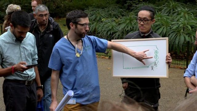 Doctors are among those who have taken part in XR protests