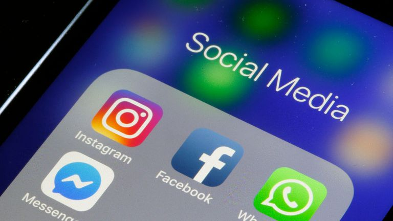 PARIS, FRANCE - MARCH 15: In this photo illustration, the logos of the messaging applications, WhatsApp, Instagram, Messenger and Facebook are displayed on the screen of an Apple iPhone on March 15, 2019 in Paris, France. Social media Facebook, Instagram, Messenger and WhatsApp have been affected by a global outage for nearly 24 hours on March 14, 2019 cutting virtual worlds to nearly 2.3 billion potential users. Facebook has explained the causes of malfunctions that have disrupted its networks