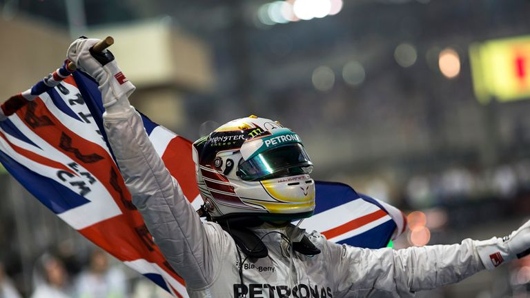 Hamilton had to wait six years before winning his second championship