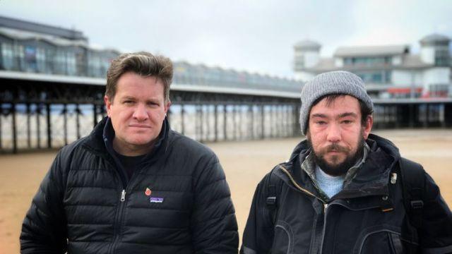 Nick Martin spoke to Tom in Weston-super-Mare