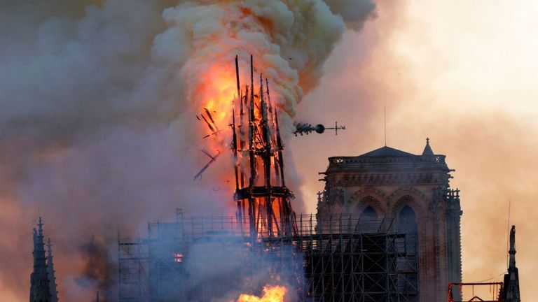 The fire at Notre Dame caused hundred of millions of euros in damage