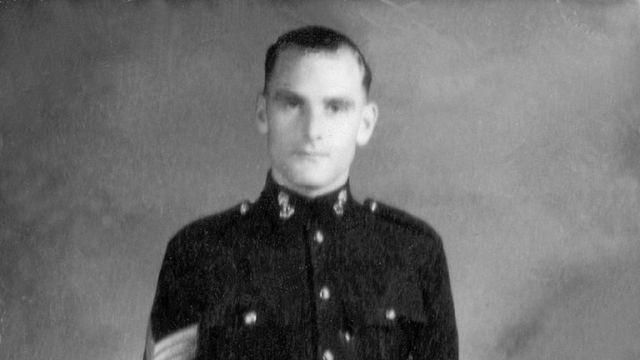 Mr Freer became blind while being held prisoner by the Japanese