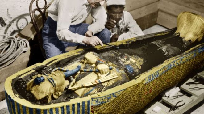 The boy king was buried with the most extraordinary artefacts to help him in the afterlife
