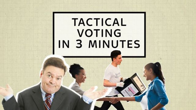Tactical voting is already a buzzword in this election but what is it and why do people do it? Find out here in three minutes.