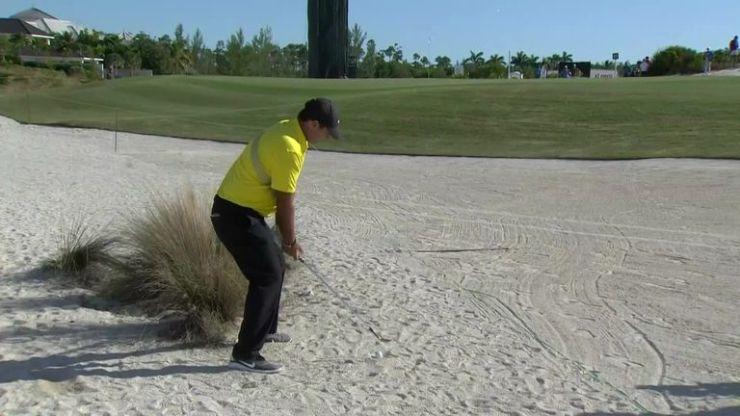 Hero World Challenge: Patrick Reed es penalizado por un disparo en el búnker mientras Tiger Woods aumenta | Noticias de golf 11