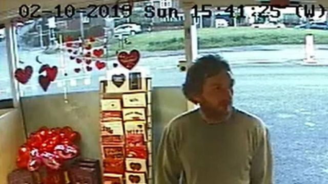 Lewis-Ranwell is seen in a shop on the day he killed three pensioners in February