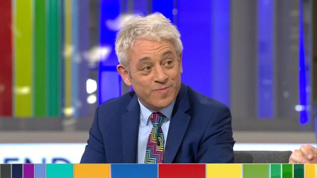 John Bercow says the exit poll is phenomenal