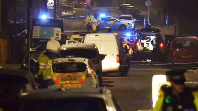 Police are hunting the driver of a Ford KA after the collision this afternoon