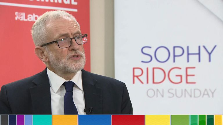 Jeremy Corbyn is calling for a review of the prison system