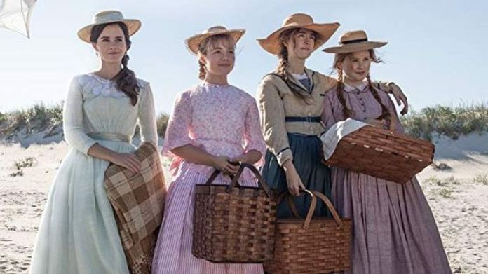 Emma Watson, Florence Pugh, Saoirse Ronan and Eliza Scanlen in Greta Gerwig's Little Women
