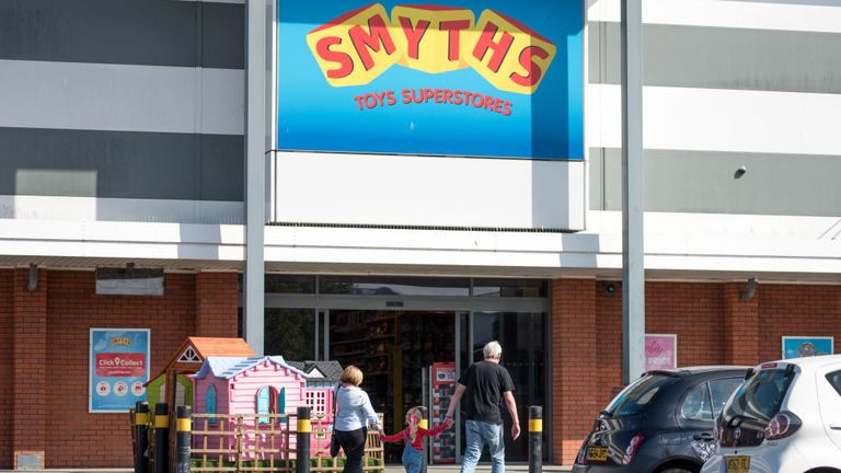 Smyths toy store is one of the major retailers Which? is urging to stop selling the smart toys