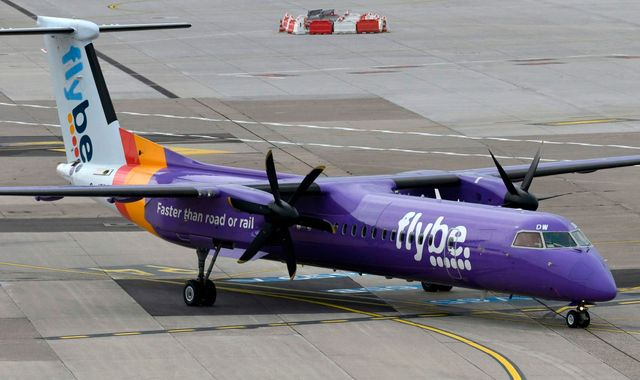 Spirit Fm News Flybe Begs Ministers For Help With Air