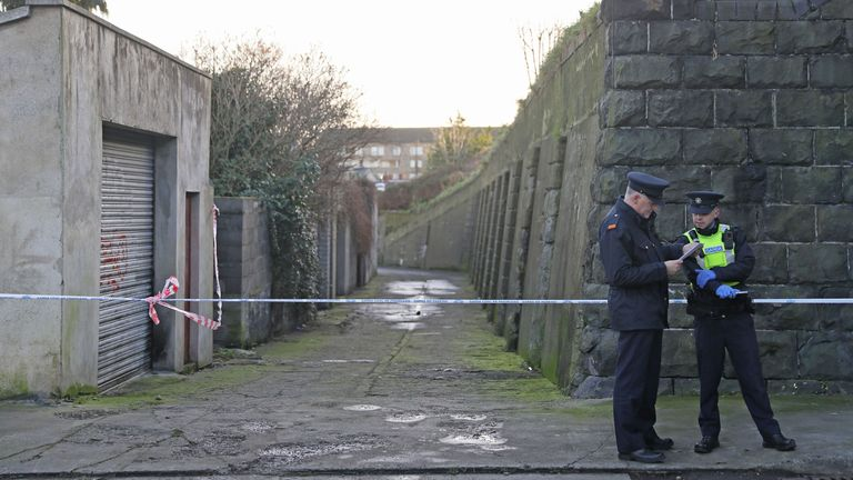 Gardai is still investigating a property in connection with the murder.