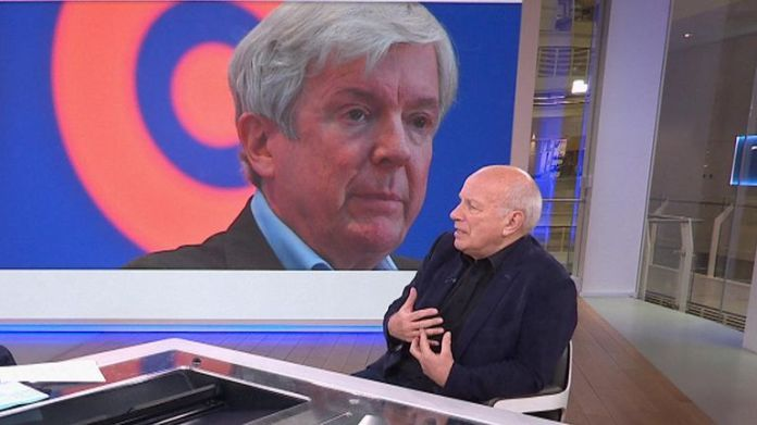 """Greg Dyke told Sky news he was """"quite surprised"""" about the timing of Tony Hall's decision"""