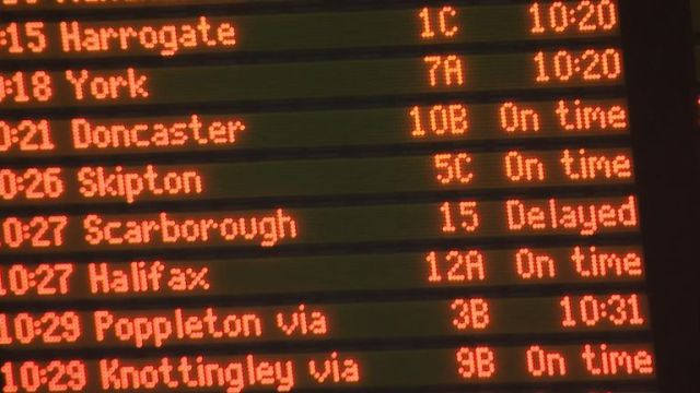 In the past 12 months, only 56% of Northern Rail's trains have arrived within a minute of their scheduled arrival time