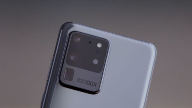 The Samsung Galaxy S20 Ultra offers up to 100x zoom