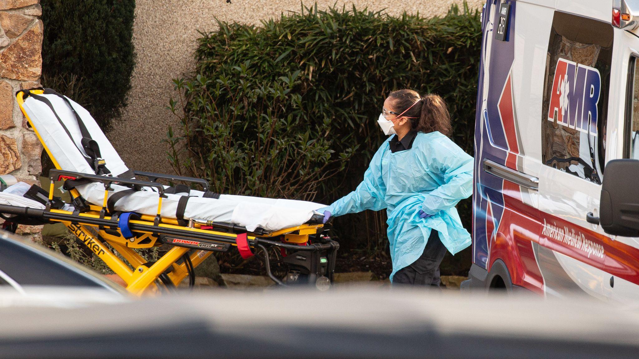Coronavirus: US and Australia record first deaths as Trump takes ...