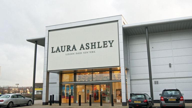 File photo dated 20/1/2010 of a general view of the Reading branch of the Laura Ashley chain which has said it has filed for administration after rescue talks were thwarted by the Covid-19 outbreak.