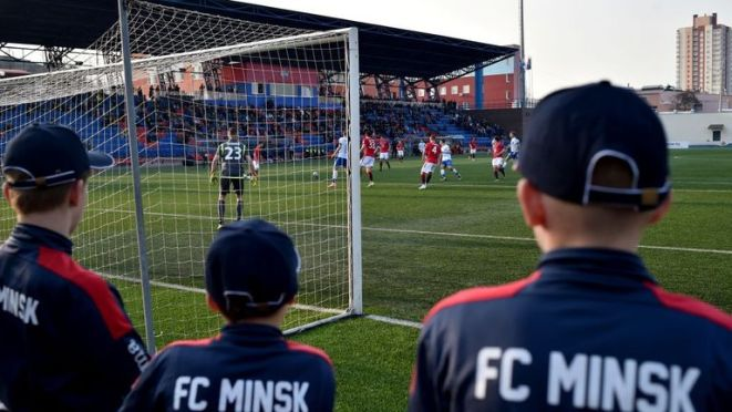 Belarus has no plans to postpone matches or cancel the football season