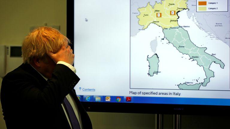 Coronavirus: PM to hold COVID-19 Cobra meeting as UK cases soar ...