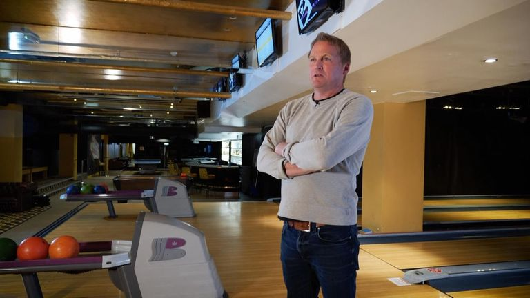 Jon Dalton owns Bloomsbury Bowling in central London