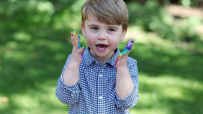 Undated photo published by Kensington Palace of Prince Louis, who is celebrating his second birthday Thursday, taken by his mother, the Duchess of Cambridge. Photo PA. Issue date: Wednesday April 22, 2020. Photo: Duchess of Cambridge