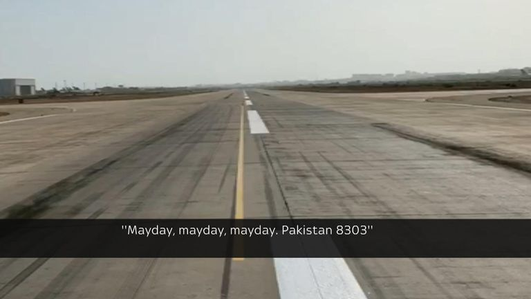 Pakistan Plane Crash Video Shows Jet Scraped Runway