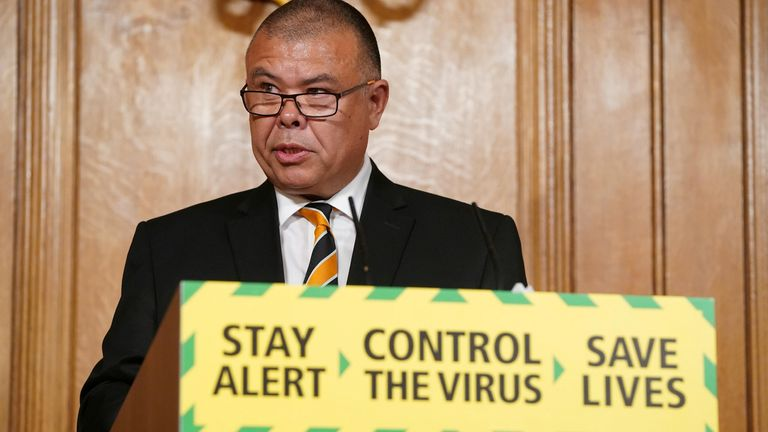 Deputy Chief Medical Officer, Professor Jonathan Van-Tam speaks at the daily digital news conference on the coronavirus disease (COVID-19) outbreak, at 10 Downing Street
