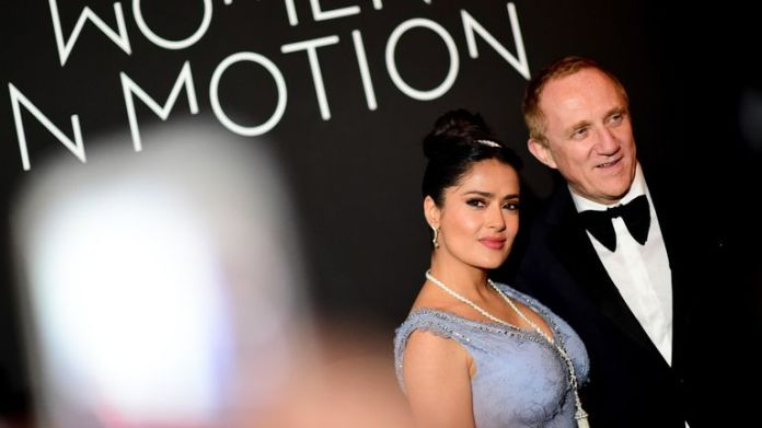 Salma Hayek is married to the CEO of Kering François-Henri Pinault