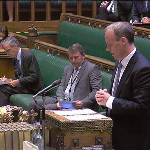What does Raab's statement mean for UK-China relations?