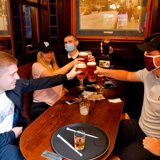 Coronavirus lockdown: Pints, weddings and trims across England as restrictions are relaxed