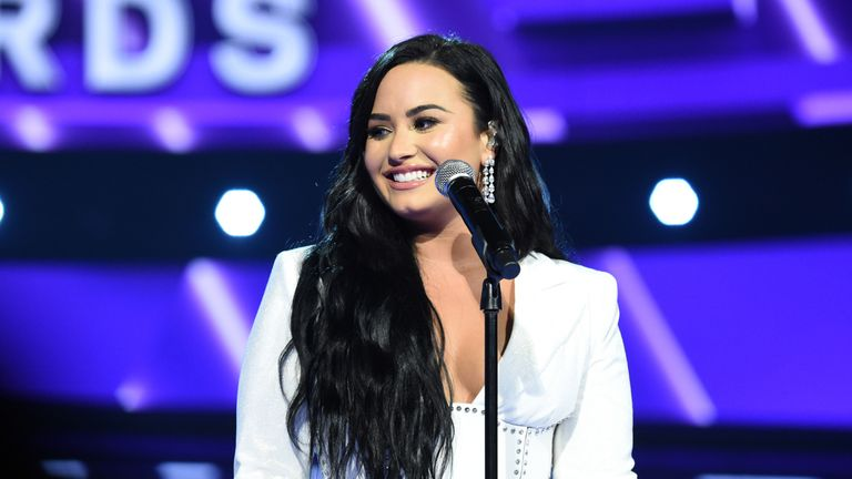 LOS ANGELES, CALIFORNIA - JANUARY 26: Demi Lovato performs at the 62nd Annual GRAMMY Awards on January 26, 2020 in Los Angeles, California. (Photo by John Shearer/Getty Images for The Recording Academy)