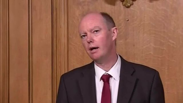 Chief Medical Officer for England Chris Whitty says that we 'have reached the limits' of what we can do to reopen society.