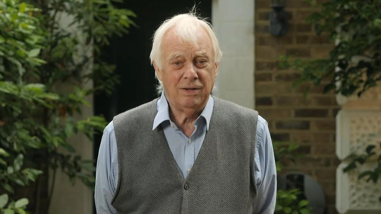 Lord Patten was the 28th and final governor of Hong Kong under British rule.